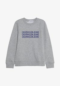 Calvin Klein Jeans - TRIPLE LOGO - Sweater - grey - 2