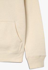 Calvin Klein Jeans - LOGO TAPE HOODIE - Huppari - beige - 3