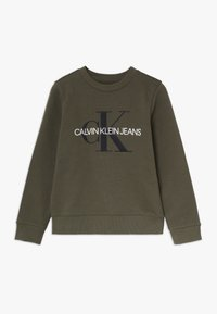 Calvin Klein Jeans - MONOGRAM - Mikina - green - 0