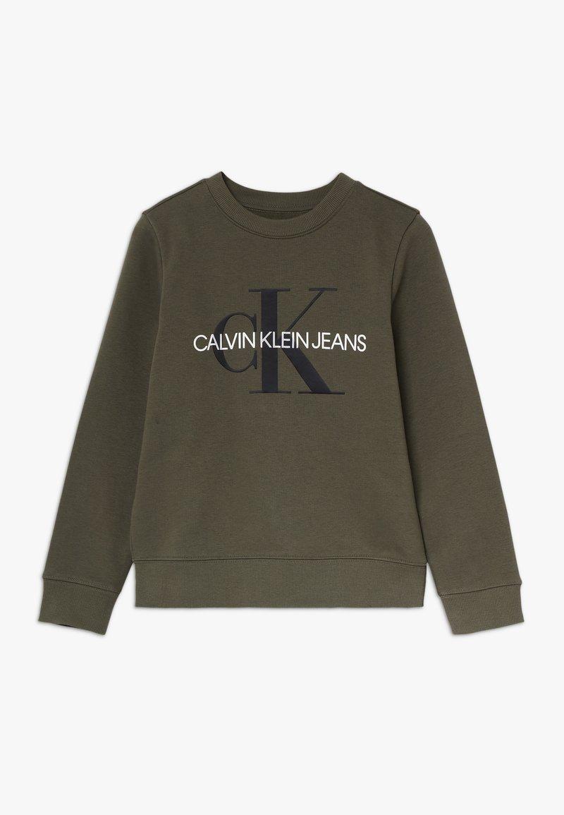 Calvin Klein Jeans - MONOGRAM - Mikina - green