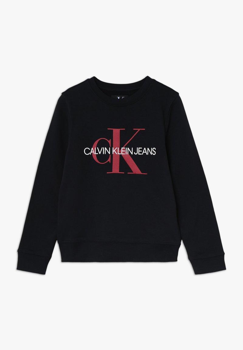 Calvin Klein Jeans - MONOGRAM - Sudadera - black