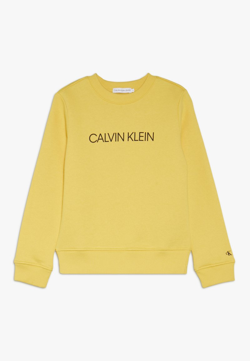 Calvin Klein Jeans - INSTITUTIONAL  - Sweater - yellow