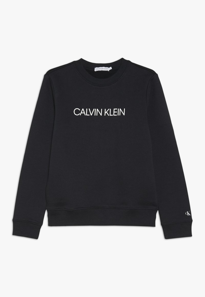Calvin Klein Jeans - INSTITUTIONAL  - Sudadera - black