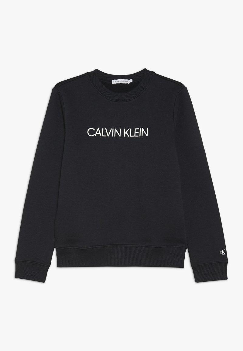 Calvin Klein Jeans - INSTITUTIONAL  - Sweatshirt - black