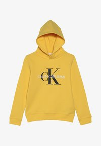 Calvin Klein Jeans - MONOGRAM HOODIE - Huppari - yellow - 2