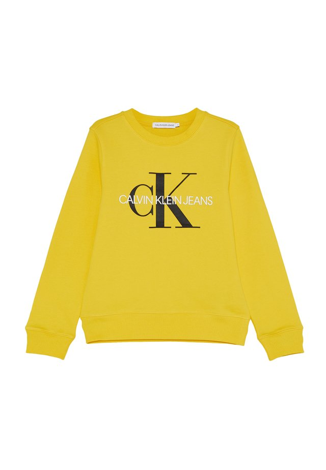 MONOGRAM LOGO  - Sweatshirt - yellow