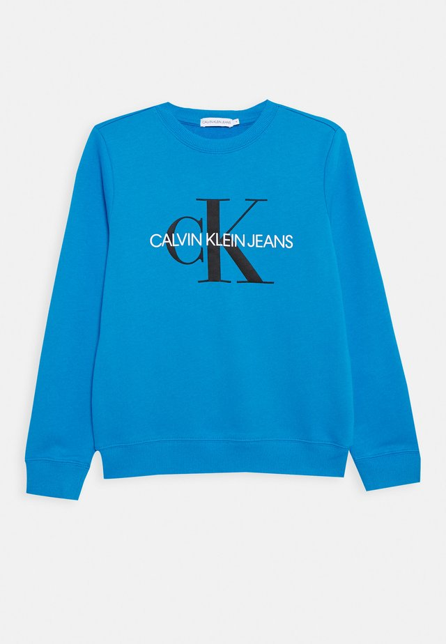 MONOGRAM LOGO  - Sweatshirt - blue