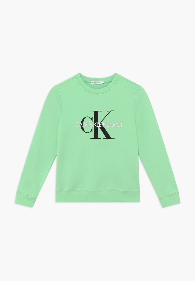 MONOGRAM LOGO  - Collegepaita - green