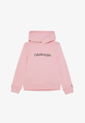 INSTITUTIONAL LOGO HOODIE - Mikina s kapucí - pink