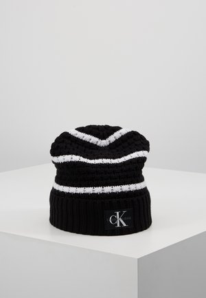 MONO BEANIE - Mütze - black