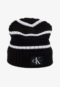 Calvin Klein Jeans - MONO BEANIE - Gorro - black - 3