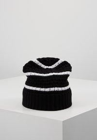Calvin Klein Jeans - MONO BEANIE - Gorro - black - 2