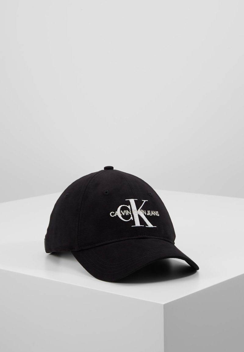 Calvin Klein Jeans - MONOGRAM WITH EMBROIDERY - Cappellino - black