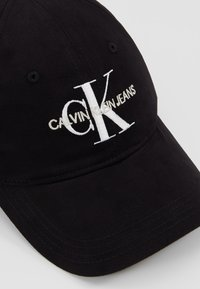 Calvin Klein Jeans - MONOGRAM WITH EMBROIDERY - Cappellino - black - 5