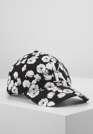 FLOWERS - Kšiltovka - black