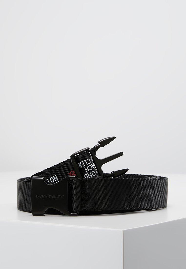 Calvin Klein Jeans - PLAQUE BELT - Riem - black