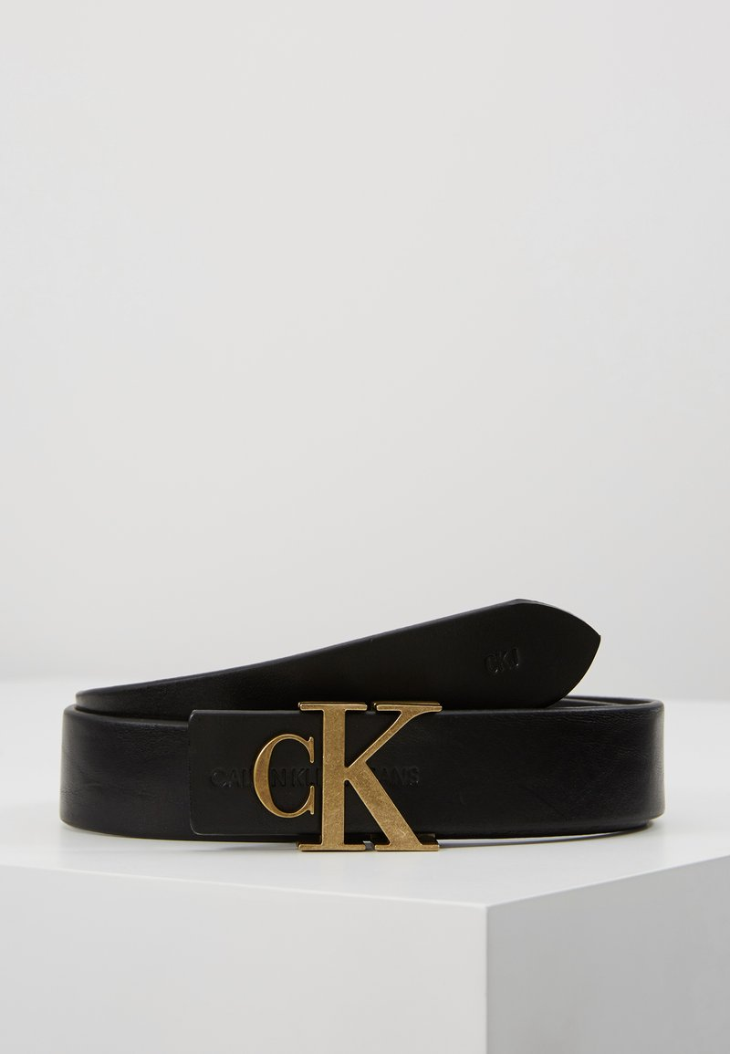 Calvin Klein Jeans - MONO BELT - Belt - black