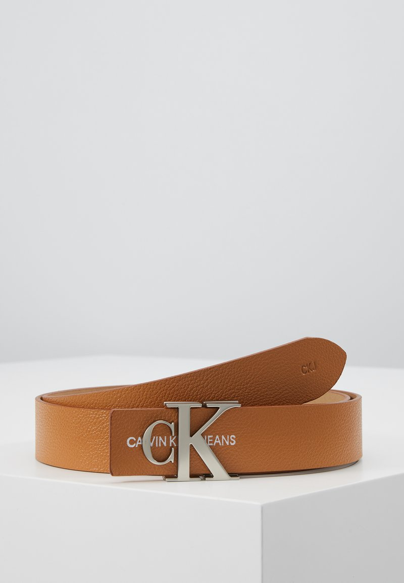 Calvin Klein Jeans - GYM CLASS MONO 30MM - Cintura - brown