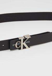 Calvin Klein Jeans - GYM CLASS MONO 30MM - Pásek - black - 2