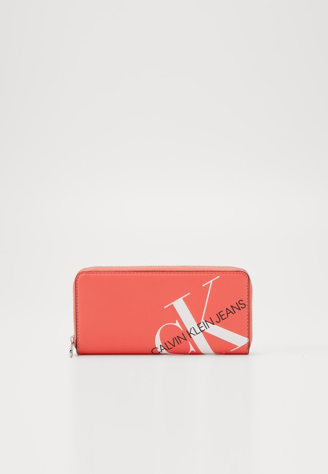 ZIP AROUND - Wallet - orange