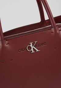 Calvin Klein Jeans - MONOGRAM SATCHEL - Kabelka - purple - 6