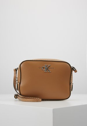 MONO HARDWARE CAMERA BAG - Olkalaukku - brown