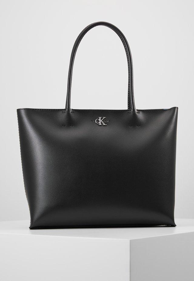 CKJ MONO HARDWARE SHOPPER - Shopping Bag - black