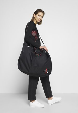 XL SHOPPER TAPEALLOVER - Velká kabelka - black