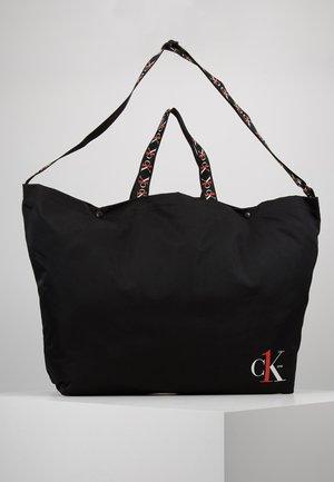 XL SHOPPER TAPEALLOVER - Shopping bag - black