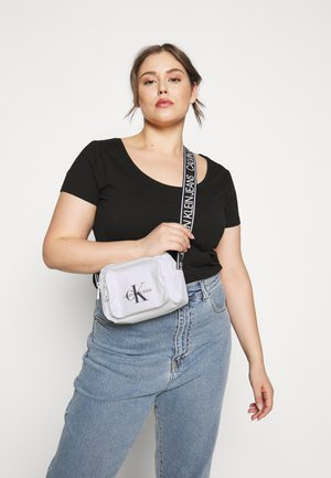 CAMERA BAG  - Across body bag - white