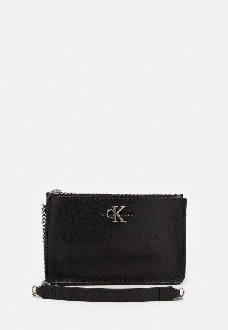 Calvin Klein Jeans - CROSSBODY CHAIN - Borsa a tracolla - black
