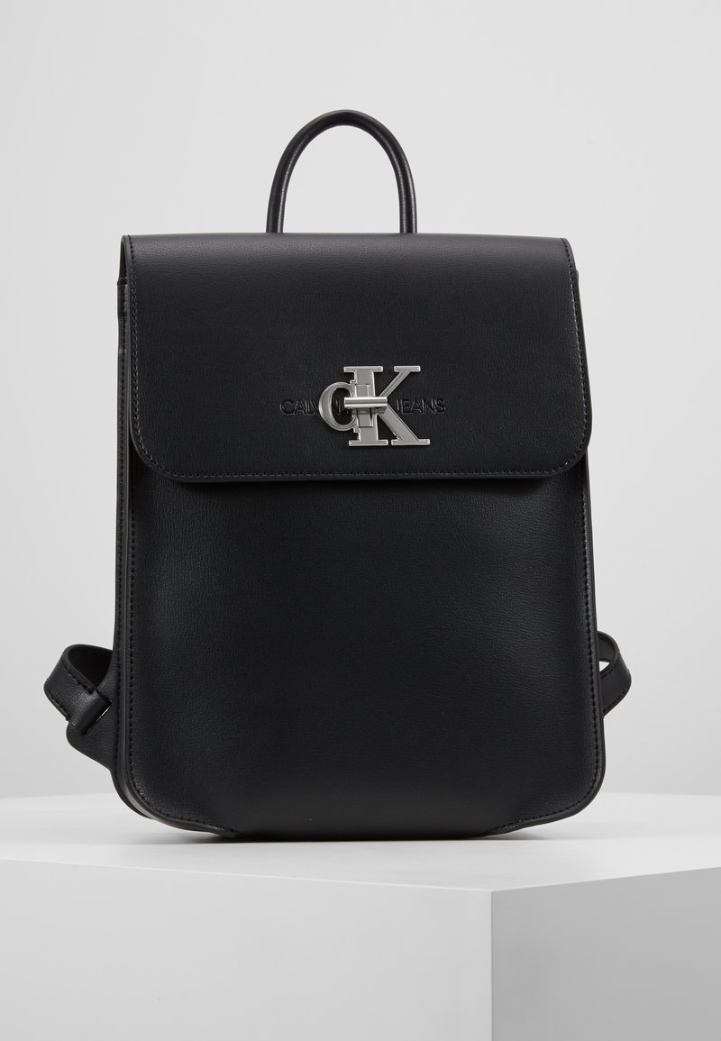 Calvin Klein Jeans - MONOGRAM BACKPACK - Mochila - black
