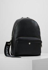 Calvin Klein Jeans - CKJ BANNER CP BACKPACK 35 - Reppu - black - 0