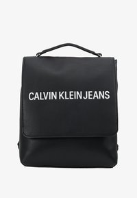 Calvin Klein Jeans - SCULPTED FLAP - Zaino - black - 5