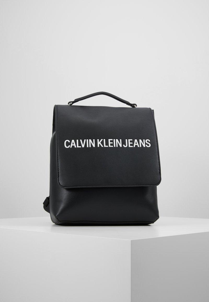 Calvin Klein Jeans - SCULPTED FLAP - Zaino - black
