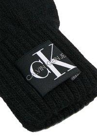 Calvin Klein Jeans - BASIC GLOVES - Fingervantar - black - 3
