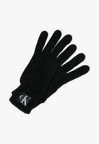 Calvin Klein Jeans - BASIC GLOVES - Fingervantar - black - 0
