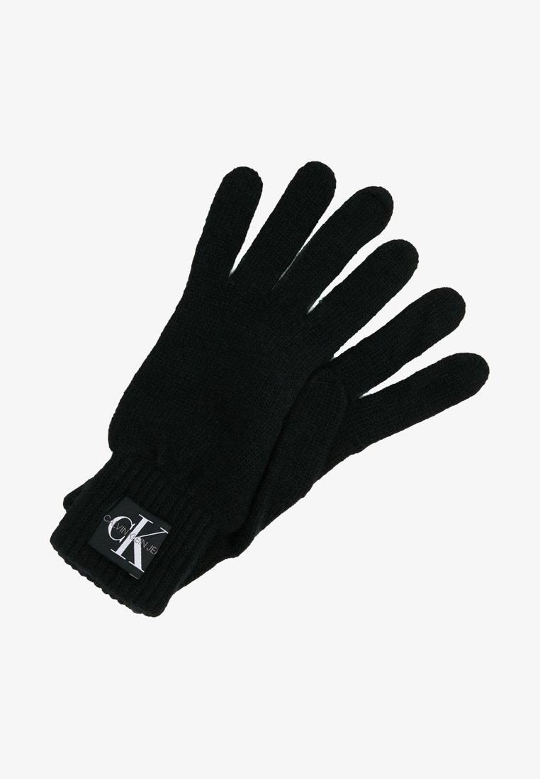 Calvin Klein Jeans - BASIC GLOVES - Fingervantar - black