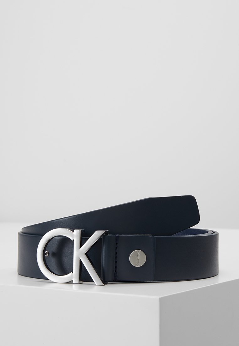 Calvin Klein - BUCKLE BELT - Pásek - blue