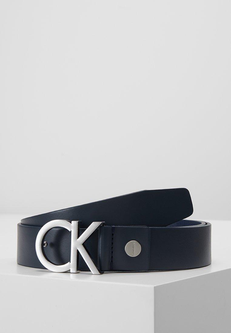 Calvin Klein - BUCKLE BELT - Gürtel - blue