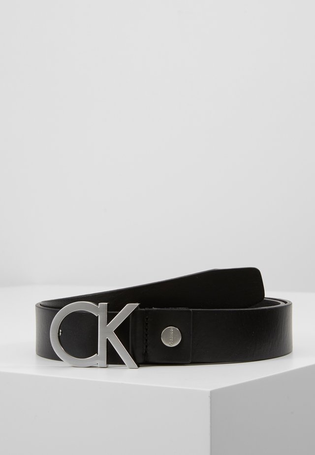 BUCKLE BELT - Vyö - black