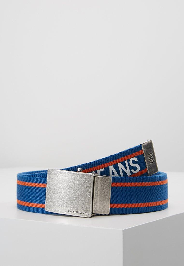 Calvin Klein Jeans - MILITARY BELT - Riem - blue