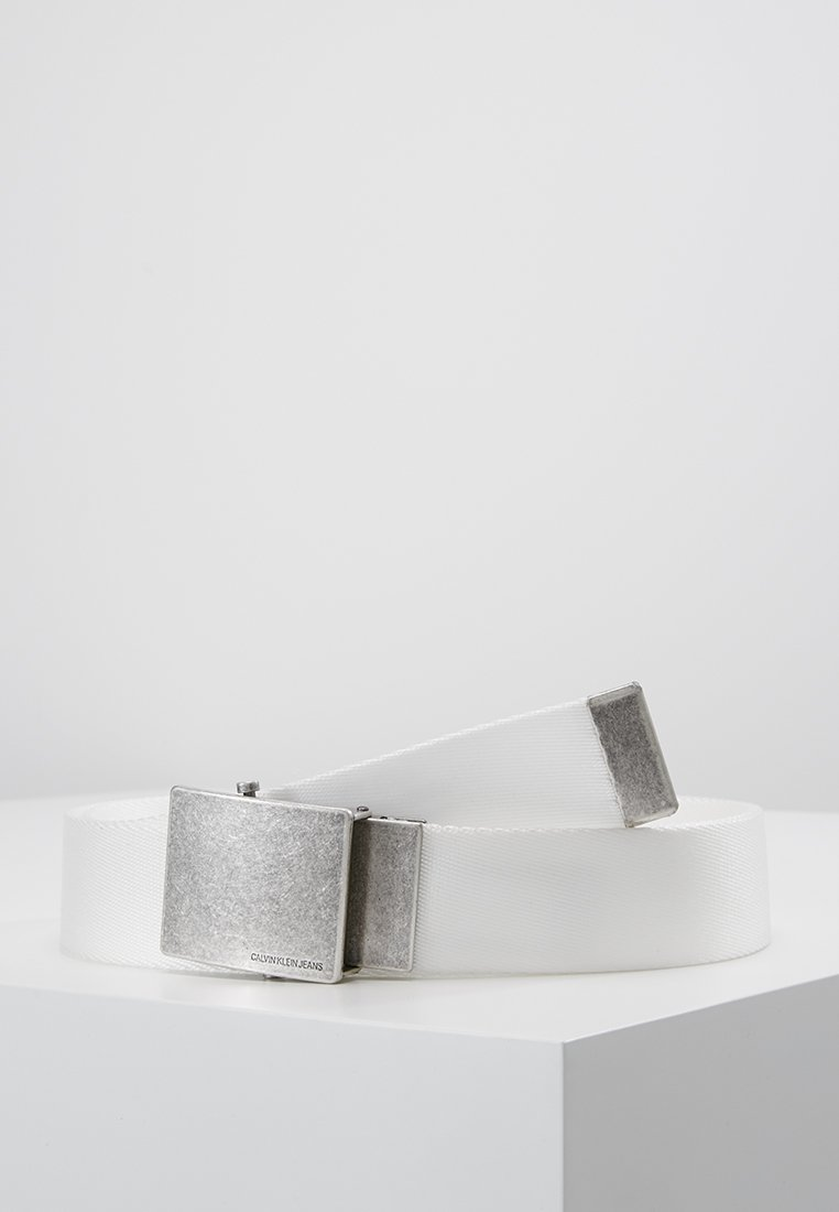 Calvin Klein Jeans - MILITARY BELT - Riem - white