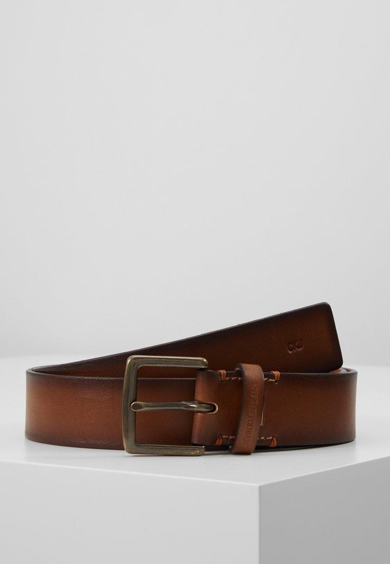 Calvin Klein Jeans - CLASSIC BELT - Pasek - brown