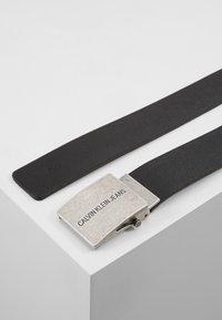 Calvin Klein Jeans - BELT - Cintura - black - 2