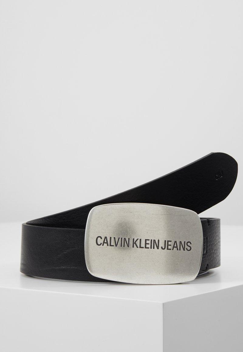 Calvin Klein Jeans - DALLAS BELT - Gürtel - black
