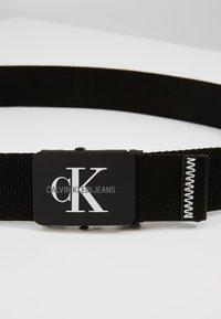 Calvin Klein Jeans - MONOGRAM BELT - Belt - black - 2