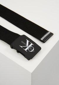 Calvin Klein Jeans - MONOGRAM BELT - Belt - black - 3