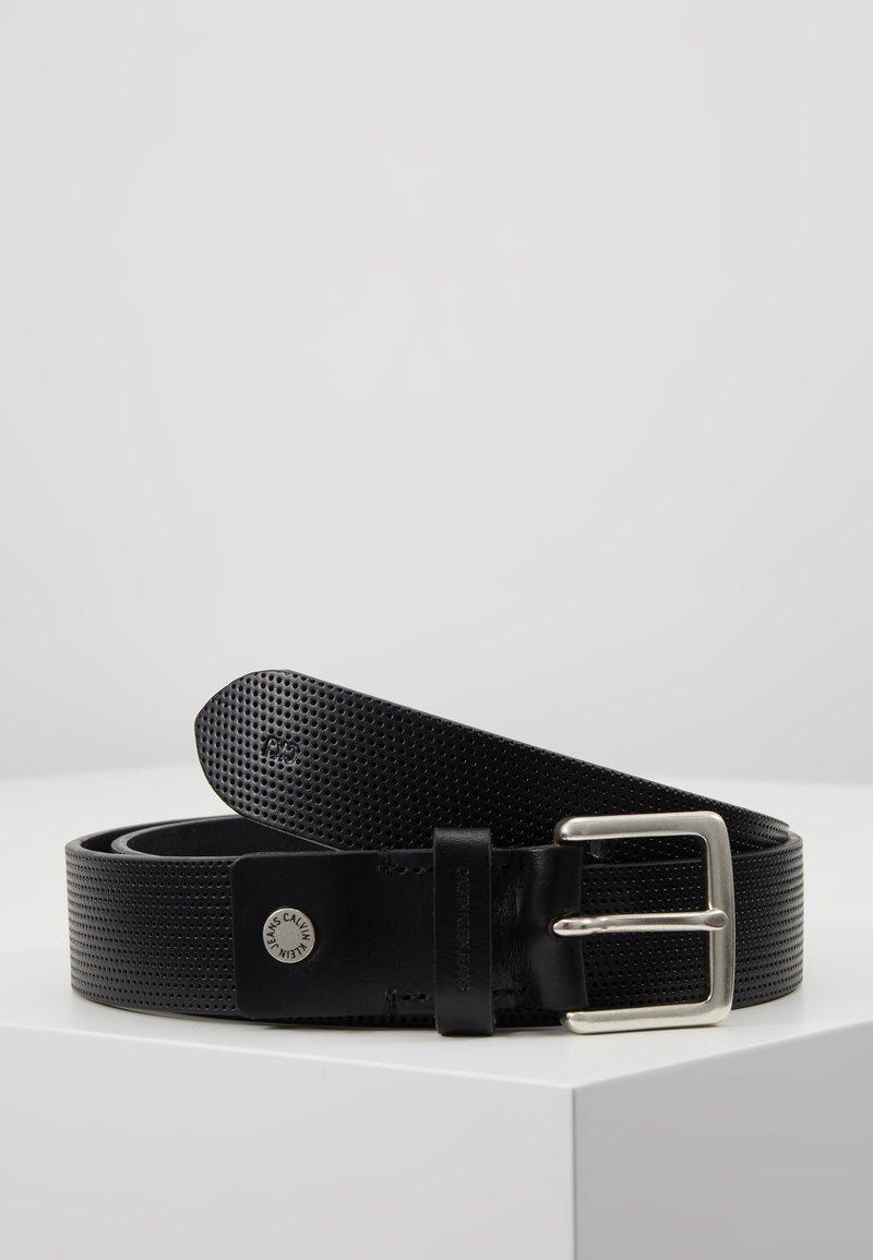 Calvin Klein Jeans - ADJUSTABLE BELT - Belt - black