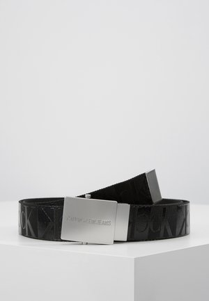 PLAQUE CANVAS BELT  - Pásek - grey